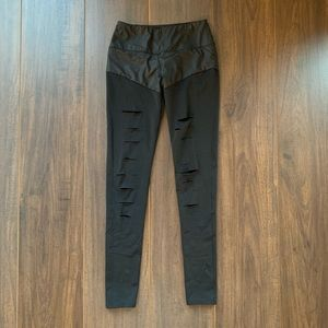 Solow workout leggings - ripped warrior